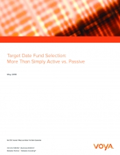 Preview Image for Target Date Fund Selection More Than Simply Active vs. Passive.pdf