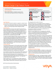 Preview Image for Voya Large Cap Value Fund Quarterly Commentary.pdf