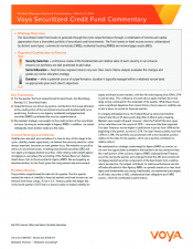 Preview Image for Voya Securitized Credit Fund Quarterly Commentary.pdf