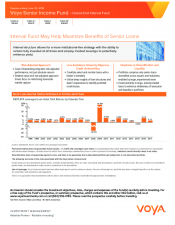 Preview Image for Voya Senior Income Fund Fact Sheet.pdf