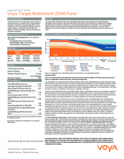 Preview Image for Voya Target Retirement 2040 Fund Fact Sheet - Class R6.pdf