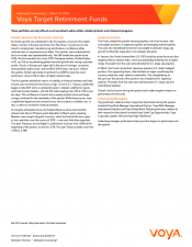 Preview Image for Voya Target Retirement Fund Portfolio Manager Commentary.pdf