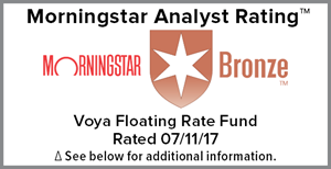 Morningstar Bronze Award_Voya Floating Rate Fund